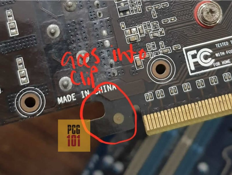 graphics card notch