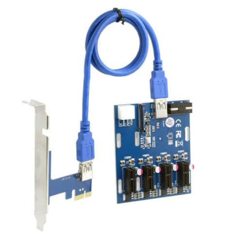 PCIe splitter