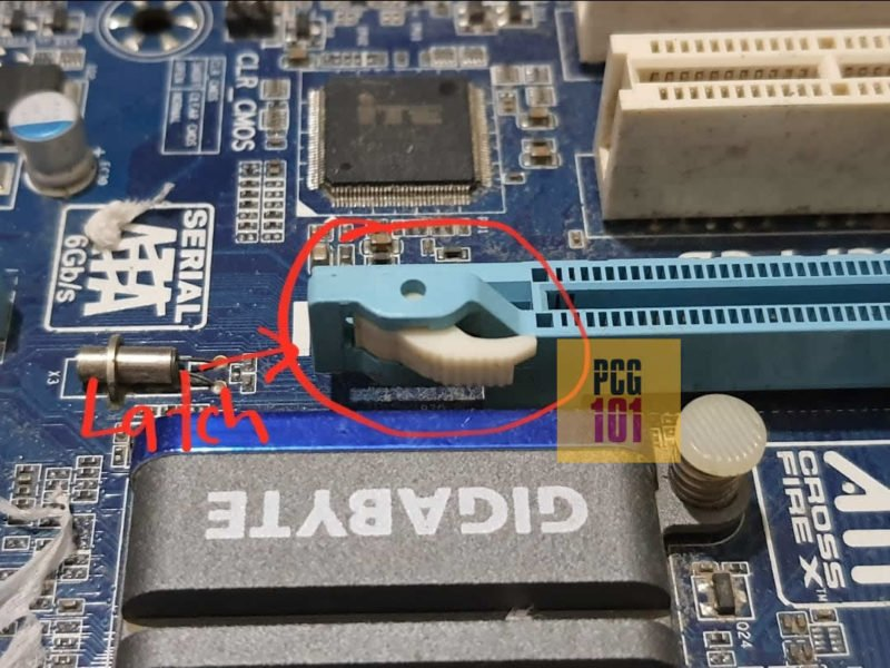 what does a pcie clip look like