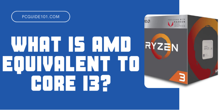 What is AMD Equivalent to Core i3