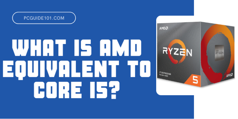What is AMD Equivalent to Core i5 2
