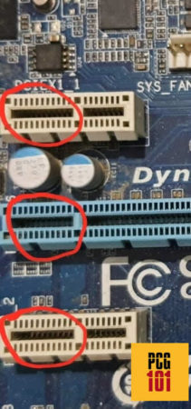 What Does a PCIe Express Slot Look Like