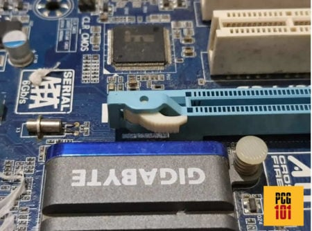 what does a pcie express look like water