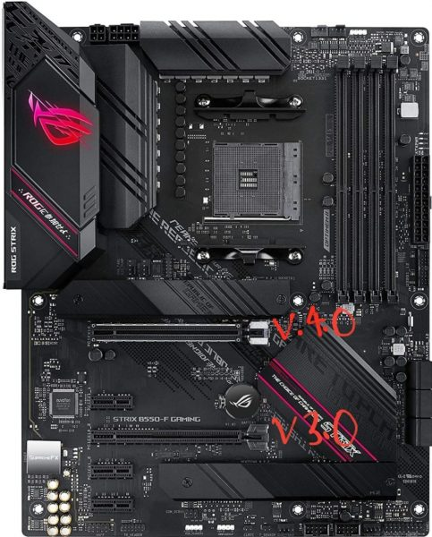 x16 slot with different versions