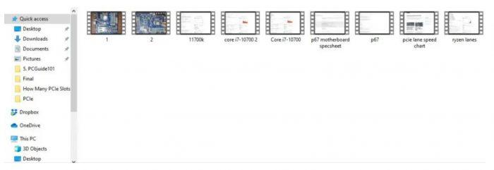 raw footage saved
