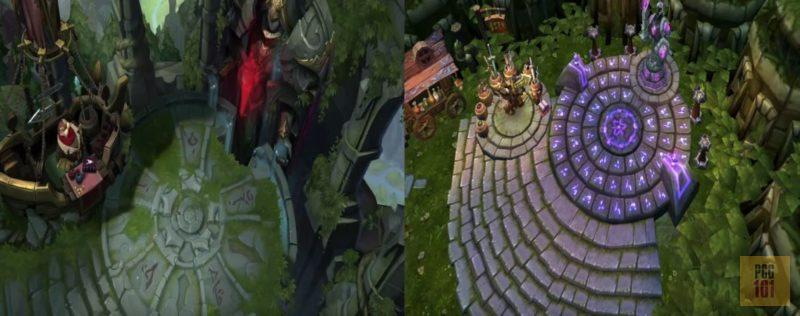 New vs Old league of Legends Graphics