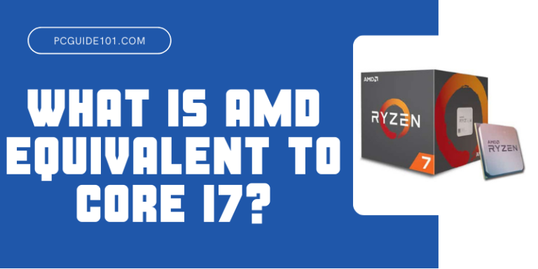 What is AMD Equivalent to Core i7