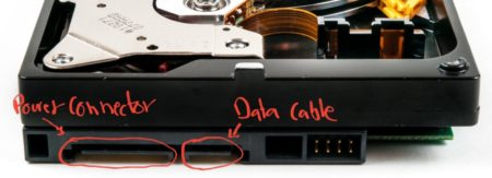 hard drive ports connections