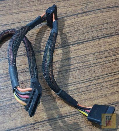split power cables