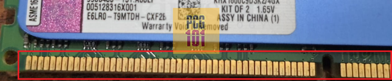 Pin Count RAM