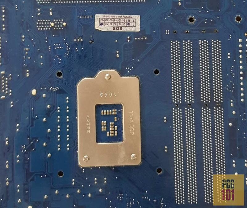 motherboard back circuit