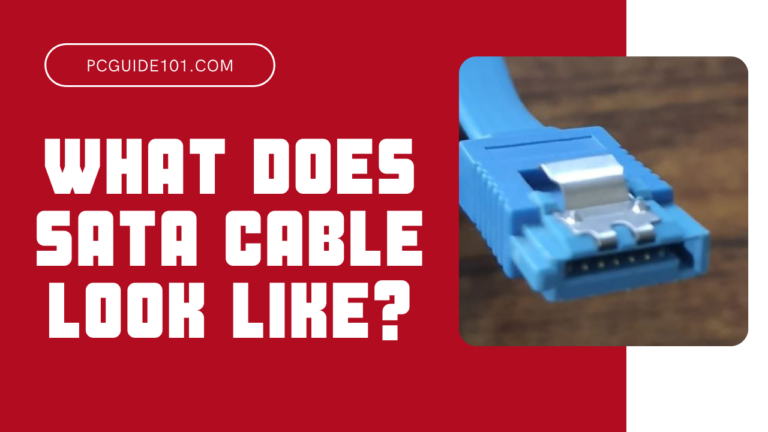 what does sata cable look like
