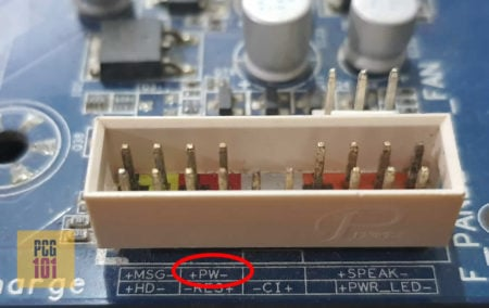 How to Connect Power Button to Motherboard w