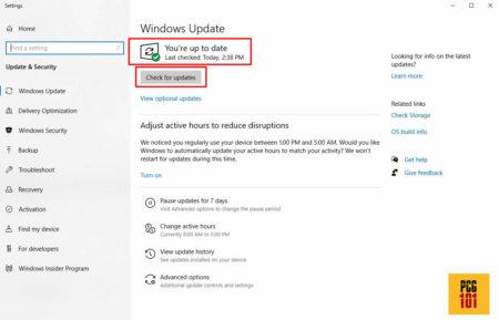 Windows updater