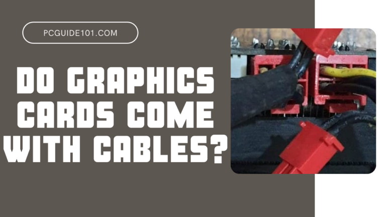 do graphics cards come with cables featured
