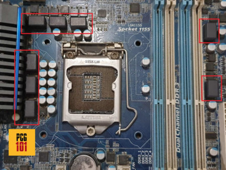 What are Motherboard Power Phases and VRMs