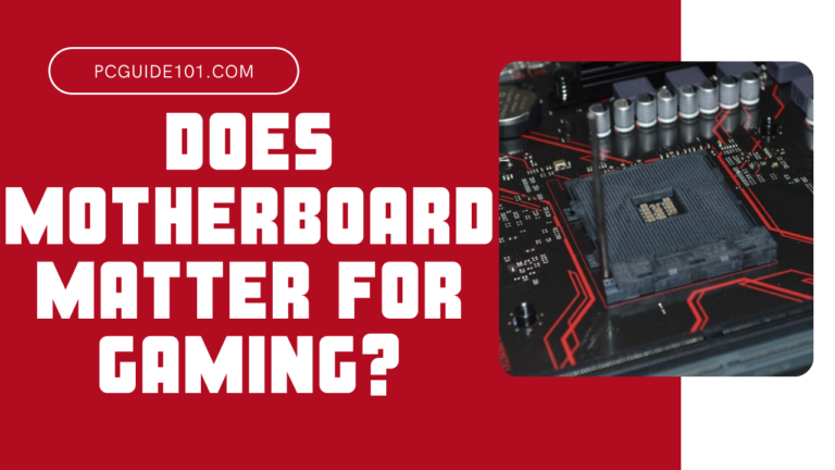 does motherboard matter for gamig featured
