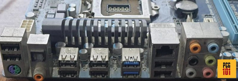 motherboard without video output ports
